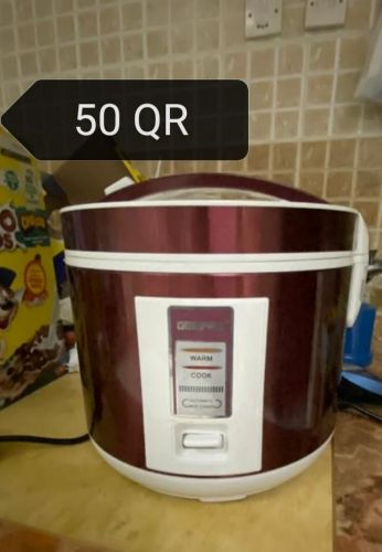 rice cooker and air fryer & grill