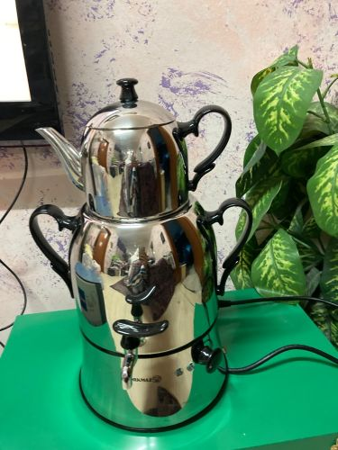 Electric tea kettle and pot TURK