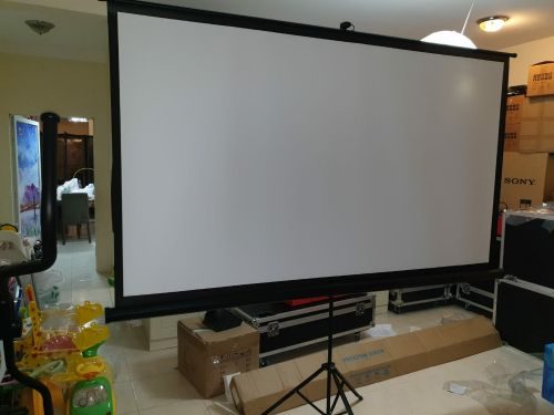 Big Screen Projector with Stand