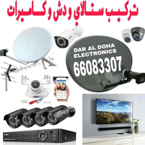 SECURITY  CAMERAS And SATELLITES
