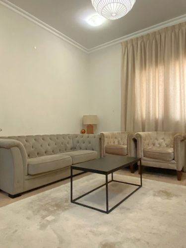 3 chair sofa with table for sale