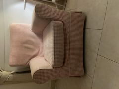 Pink couch from IKEA