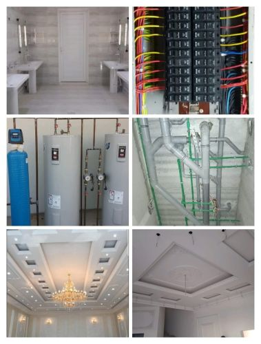 Painting & electric and plumbing